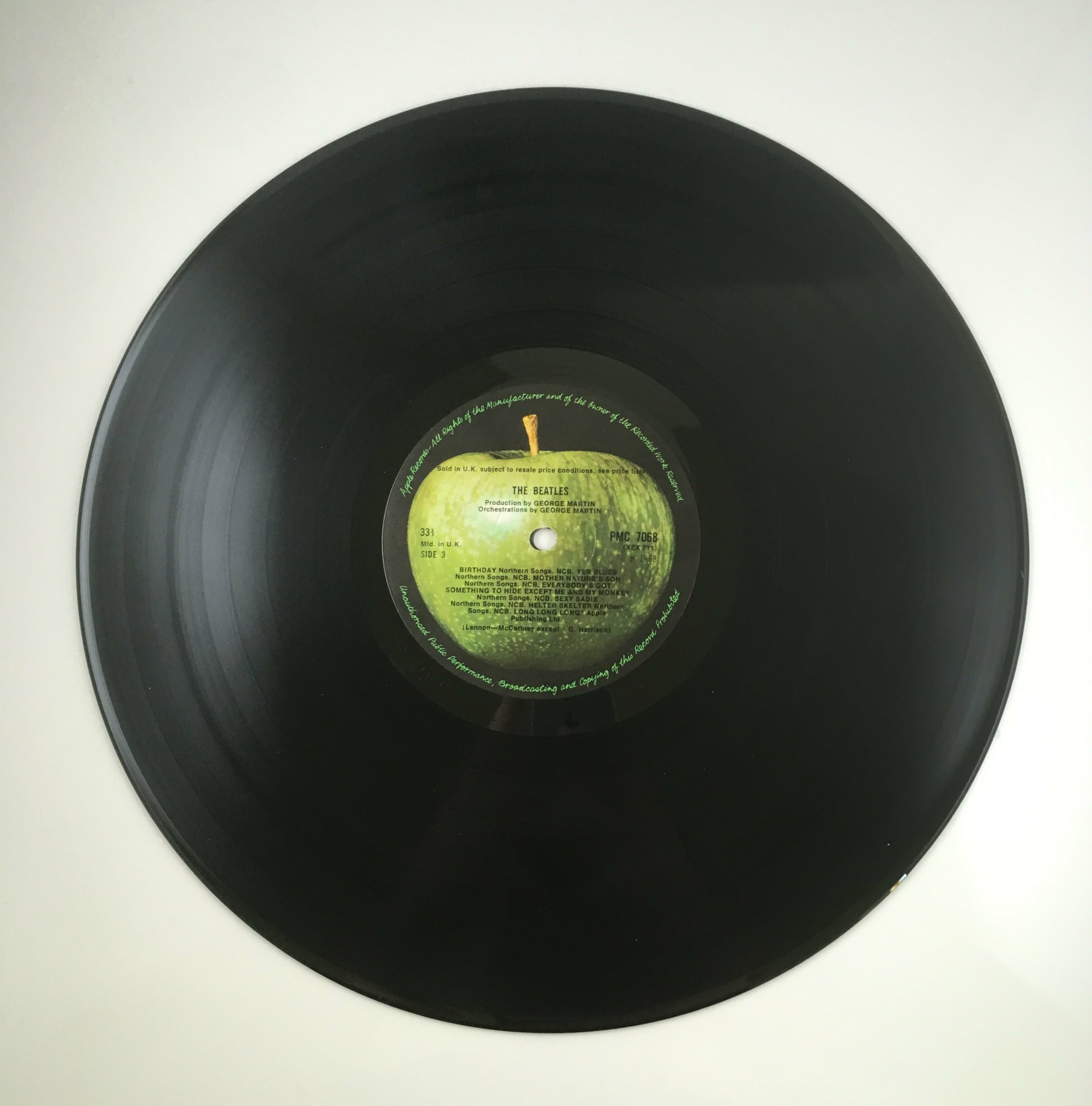 Original The Beatles White Album 0005096 Early Pressing